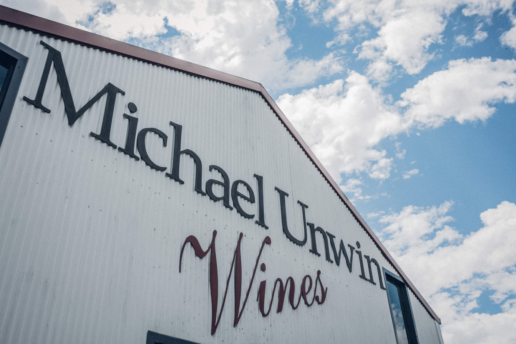 Michael Unwin Wines Front Shed