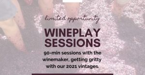 Wine Play event