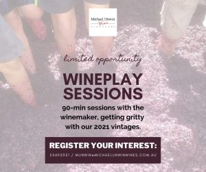 Wine Play event